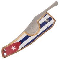 Cutters & Accessories Les Fines Lames Le Petit Cigar Cutter Cuban Flag Light