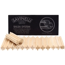 Pipe Tools & Supplies Savinelli 9mm Balsa Filters (15 Count)