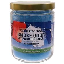 Pipe Tools & Supplies Smoke Odor Exterminator Candle Clothesline Fresh 13oz