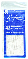 Cleaners & Cleaning Supplies Brigham Extra Absorbent Pipe Cleaners (42 pack)
