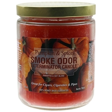 Pipe Tools & Supplies Smoke Odor Exterminator Candle Pumpkin & Spice 13oz