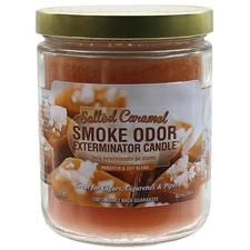 Pipe Tools & Supplies Smoke Odor Exterminator Candle Salted Caramel 13oz