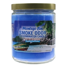 Pipe Tools & Supplies Smoke Odor Exterminator Candle Montego Bay 13oz