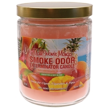 Home Fragrance Smoke Odor Exterminator Candle Maui Wowie Mango 13oz