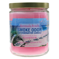 Pipe Tools & Supplies Smoke Odor Exterminator Candle Bermuda Beach 13oz