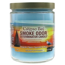Pipe Tools & Supplies Smoke Odor Exterminator Candle Calypso Bay 13oz
