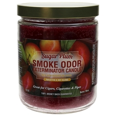 Home Fragrance Smoke Odor Exterminator Candle Sugar Plum 13oz