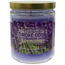 Home Fragrance Smoke Odor Exterminator Candle Lavender with Chamomile 13oz