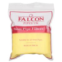 Pipe Tools & Supplies Falcon 9mm Filters (25 Count)