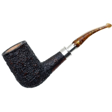 Ardor Urano Ninfea Bent Billiard with Silver Army Mount