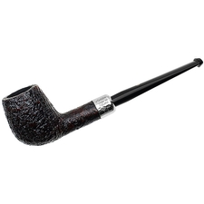 Ashton Pebble Grain Billiard with Silver Army Mount (XX)