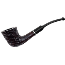 Ashton Pebble Grain Bent Dublin with Silver (XXX)