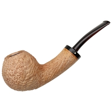 Becker Sandblasted Bent Apple (Three Clubs)