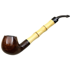 Butz-Choquin Faux Bamboo Smooth Bent Apple