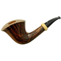 Caminetto Smooth Bent Dublin with Boxwood (AT)