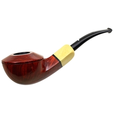 Caminetto Smooth Bent Bulldog with Boxwood (00) (AR)