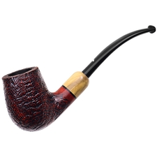 Caminetto Sandblasted Bent Billiard with Boxwood (06) (AR)