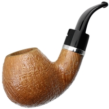 Caminetto Sandblasted Bent Apple with Silver (06) (AR)