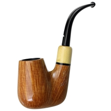 Caminetto Smooth Oom Paul with Boxwood (02) (AR)