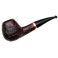 Caminetto Sandblasted Bent Brandy with Silver (06) (AR)