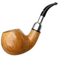 Caminetto Smooth Bent Apple with Silver Spigot (02) (AR)