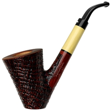 Caminetto Sandblasted Bent Dublin Sitter with Boxwood (06) (AR)