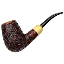 Caminetto Rusticated Bent Brandy with Boxwood (Moustache) (08) (AR)