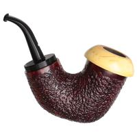 Caminetto Rusticated Reverse Calabash Calabash with Boxwood (08) (AT)