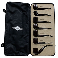 Dunhill 7 Day Bruyere Set with Custom Case