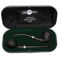 Dunhill Shell Briar Quaint Two Pipe Art Deco Set (3) (34/50) (2018) (with Case)