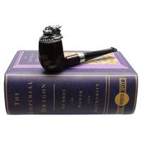 Dunhill Imperial Dragon Bruyere Billiard with Silver (4103) (6/88)