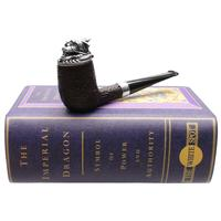 Dunhill Imperial Dragon Shell Briar Billiard with Silver (4103) (6/88)