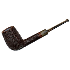 Former Sandblasted Billiard with Horn Stem