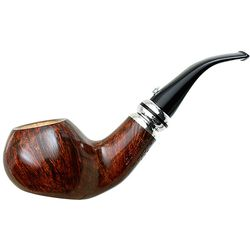L'Anatra Calenda 2015 Smooth Bent Apple Sitter with Silver (025)
