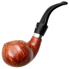 L'Anatra Ventura Smooth Bent Apple with Silver