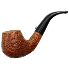 L'Anatra Sandblasted Bent Billiard
