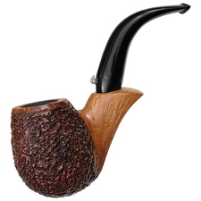 L'Anatra Partially Rusticated Bent Billiard