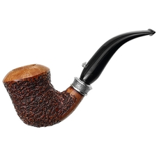 L'Anatra Rusticated Bent Dublin with Silver