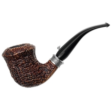 L'Anatra Sandblasted Bent Dublin with Silver