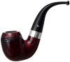 Peterson Sherlock Holmes Smooth Red Baskerville Fishtail