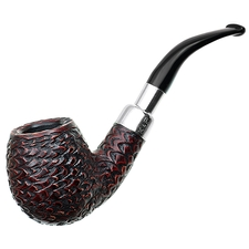 Peterson Rusticated Nickel Mounted Spigot (68) Fishtail