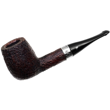 Peterson House Pipe Sandblasted Billiard P-Lip
