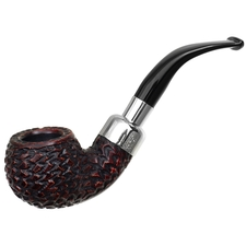 Peterson Rusticated Nickel Mounted Spigot (03) Fishtail