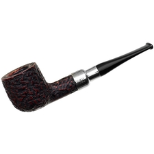 Peterson Rusticated Nickel Mounted Spigot (606) Fishtail