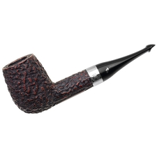 Peterson House Pipe Rusticated Billiard P-Lip