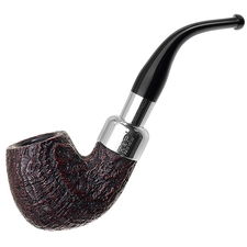 Peterson Sandblasted Nickel Mounted Spigot (221) Fishtail