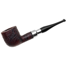 Peterson Sandblasted Nickel Mounted Spigot (606) Fishtail