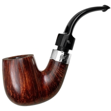 Peterson House Pipe Terracotta Bent Billiard P-Lip