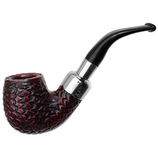 Peterson Rusticated Nickel Mounted Spigot (221) Fishtail