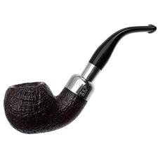 Peterson Sandblasted Nickel Mounted Spigot (03) Fishtail